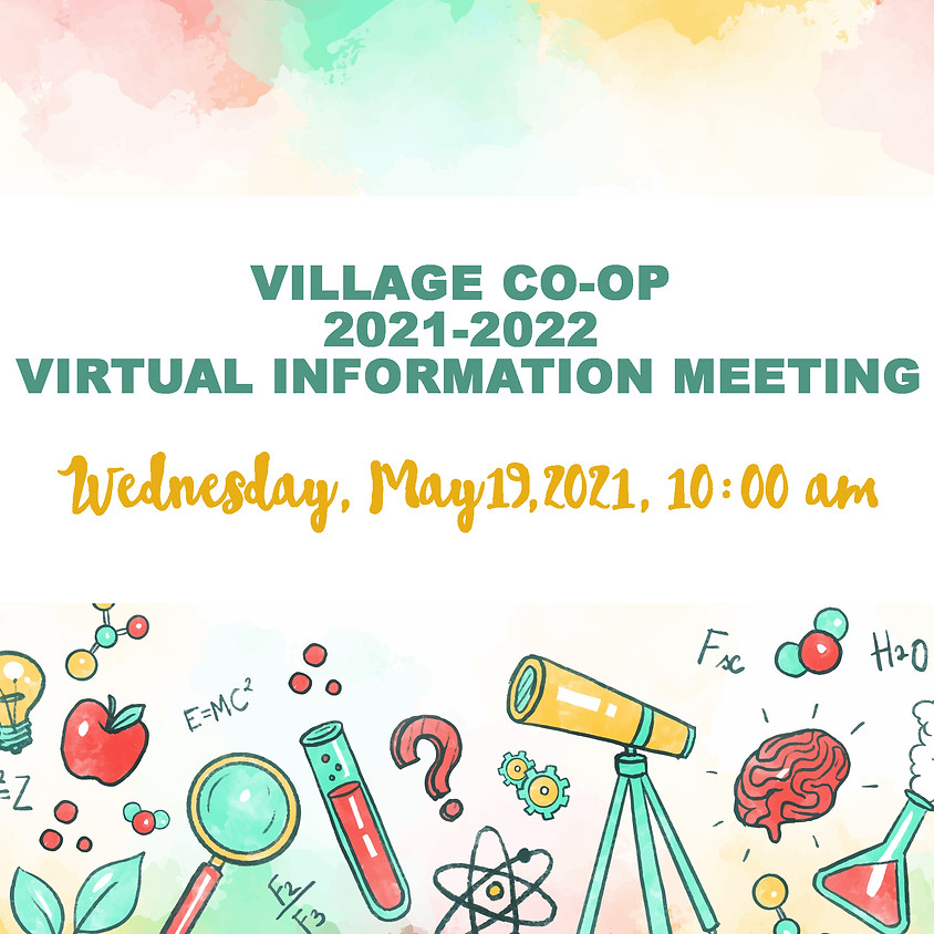 2021-2022 Information Meeting