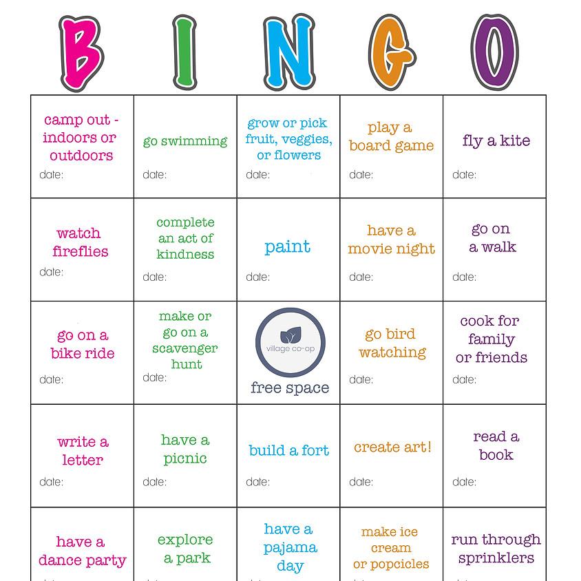 Village Summer Bingo!!!