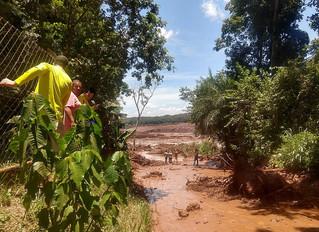 Rompimento das barragens já era esperado por moradores de Brumadinho (MG)