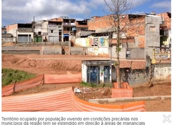 Expansão desordenada aumenta risco de falta de água na macrometrópole paulista