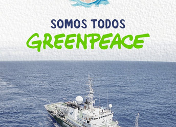 Solidariedade ao Greenpeace