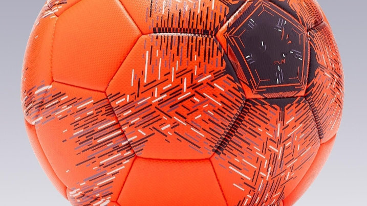 Futsal technical training ball