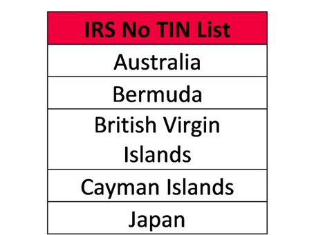 What Is the IRS No TIN List?