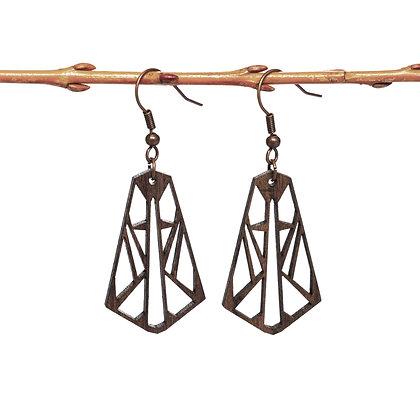 AILES - Boucles d'oreilles en bois