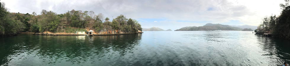 Panoramic view of our Open Water Training Site