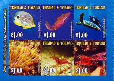 Solomon Baksh images on TTPost Stamps