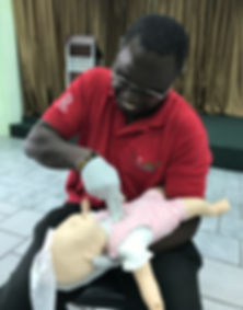 Efficient First Aid Responders Limited, The Dvie Tribe Limited, CPR, First Aid, AED, CPR class Trinidad, Solomon Baksh, The Dive Tribe Limited