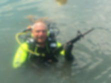 PADI Public Safety Diver, Underwater Criminal Investigator, Solomon Baksh,PADI courses Trinidad, Trinidad dive centers, Pete Ressa,