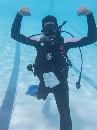 Bernard Soo Hon, PADI Master Scuba Diver Trainer, The Dive Tribe
