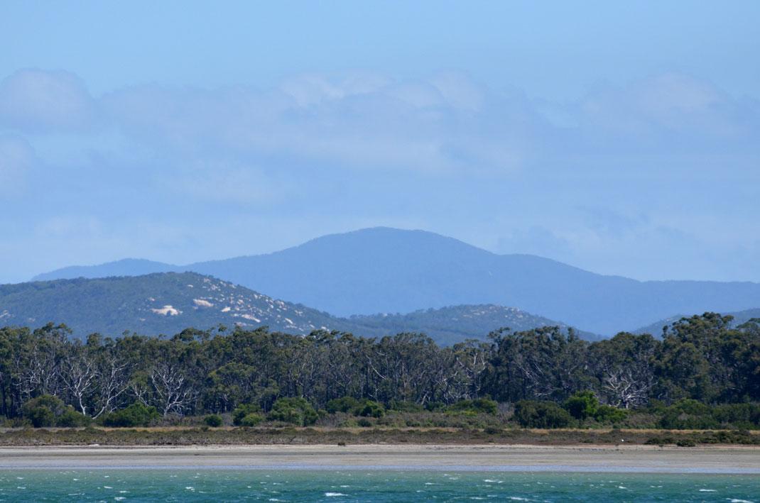 Views of Snake Island