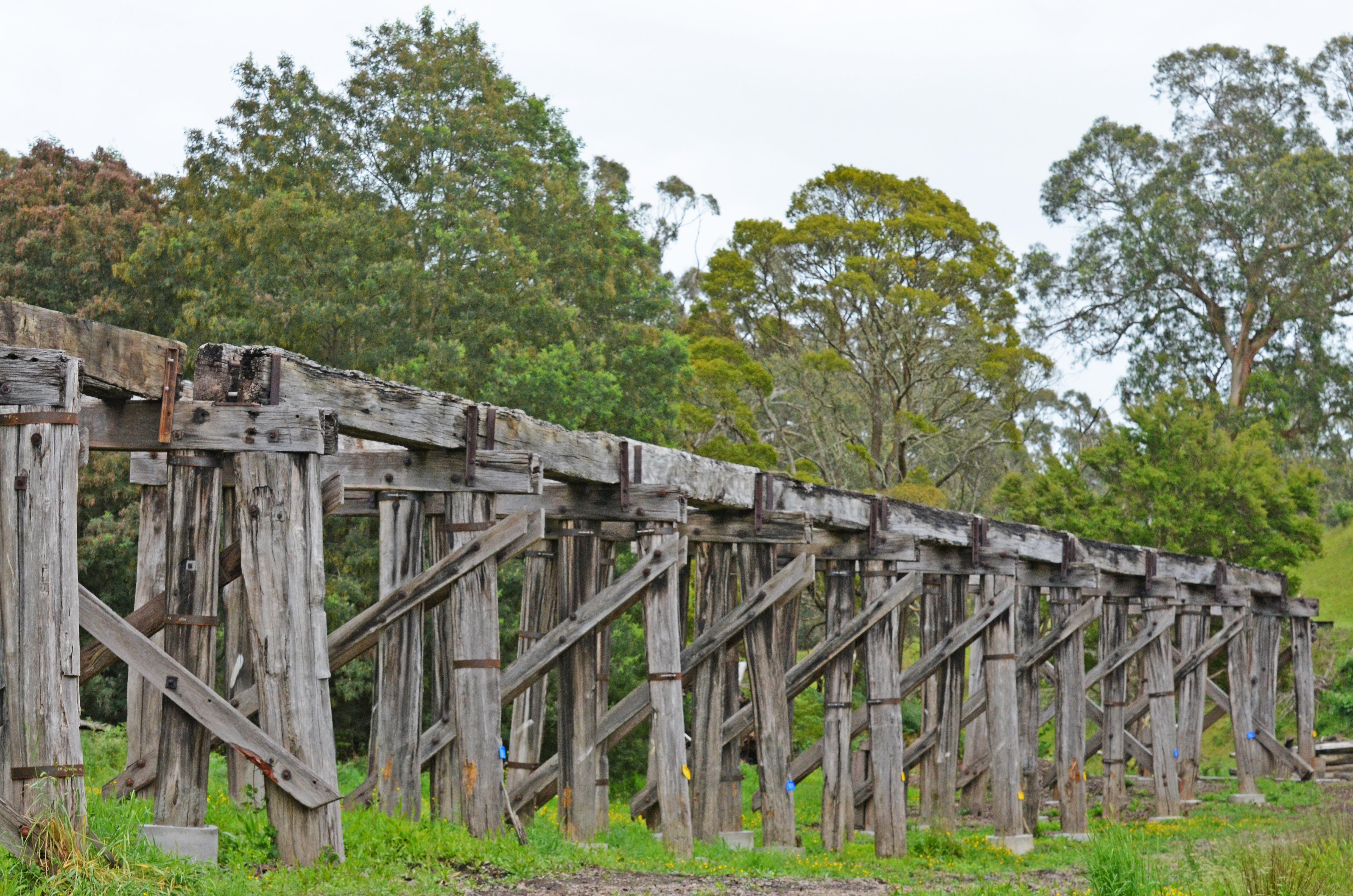 Koonwarra Trestle Bridges