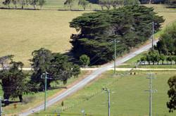 Toora, Trail crossing