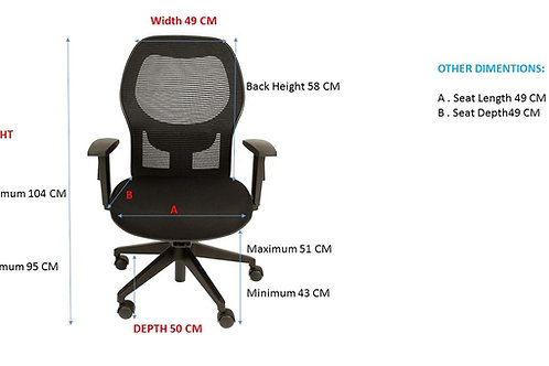 Y mesh chair