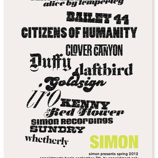 SIMON SHOWROOM