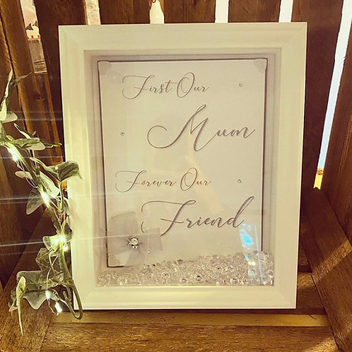 """First Our Mum"" Quote Frame"
