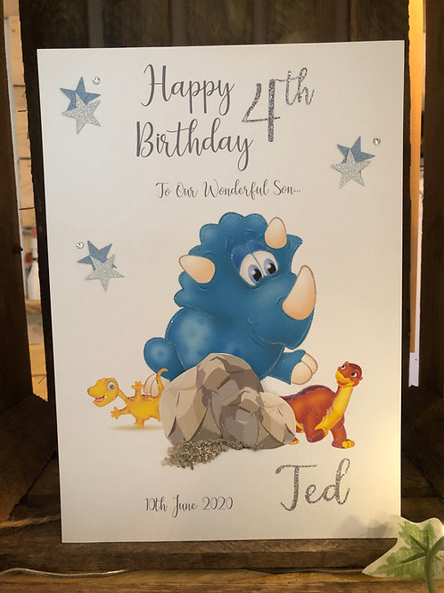 Children's Birthday Cards (Boys)