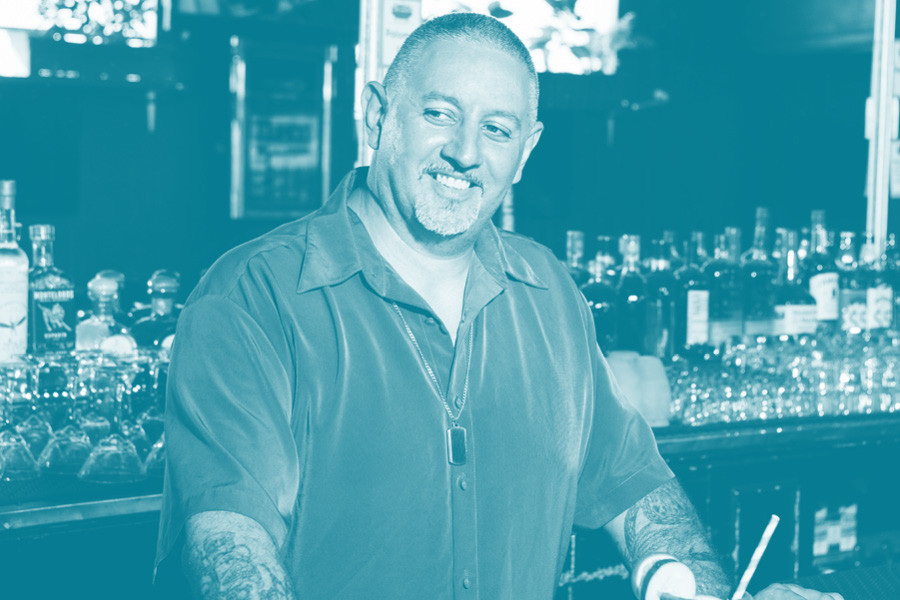 Chris Jimenez, bar manager of Aloha Club
