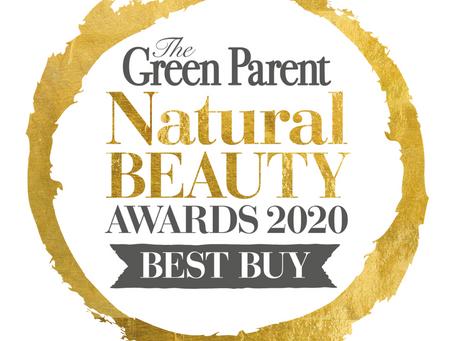 Sqwidge Sleepy Baby Oil wins 'BEST BUY' in Green Parent Magazine Awards 2020!