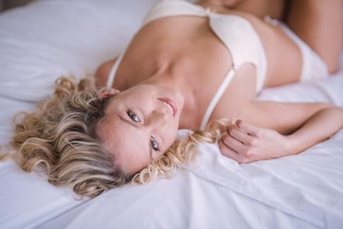 Romantische boudoir fotografie