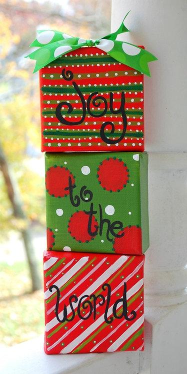 Joy to the World Ornament Set