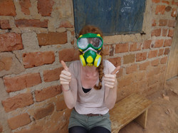The spraying mask