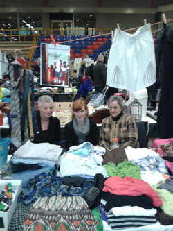 At the second hand market