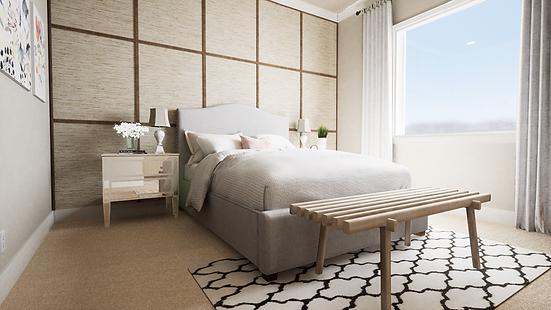 Cozy & Glam Bedroom