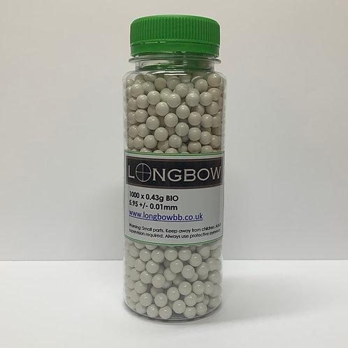 Longbow Bio 0.43g x 1000