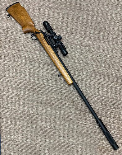 Rosewood Real Wood Stock by Taring Carving for SSG24 / M24