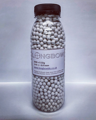 Longbow 0.32g bb - 2000rds - BAG ONLY