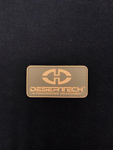 Official DesertTech Patch (Tan)