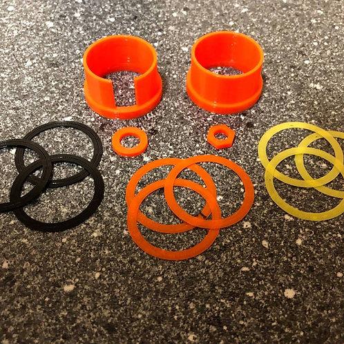 SSG24 Orange Guide Rings & Risers/Spacers (Version 2)