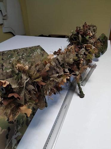 SCG Autumn Halo screen elememt Rifle Wrap