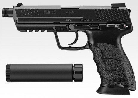 TM HK45 Tactical (Black)