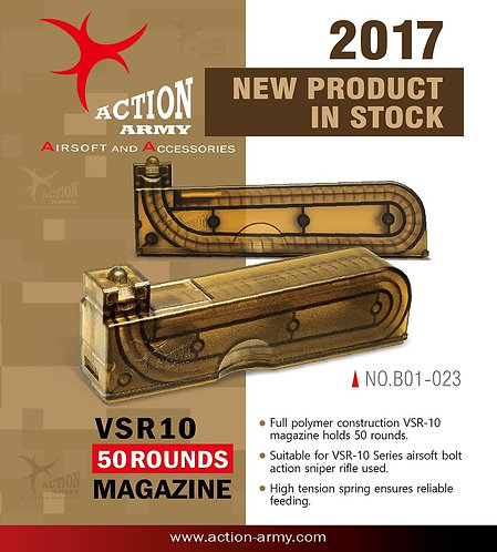 Action Army VSR-10 50rd Magazine