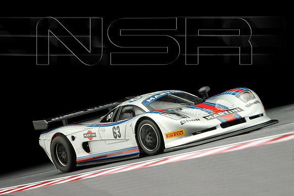 NSR Future Release 0152SW Mosler MT 900 R Martini Racing #63 Grey