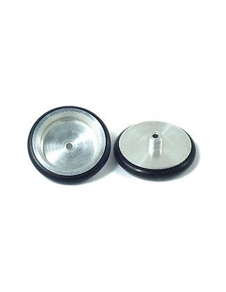 JK-TDF1S (JK8680) 0.800 Solid Front Drag Wheel, Alumininum, O-ring (pr)