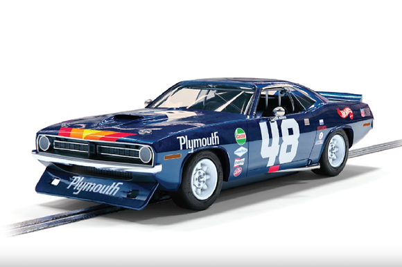 SCALEXTRIC C4219 Future Release Plymouth Barracuda #48 Trans Am