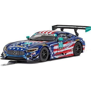 SCALEXTRIC-C4023 Mercedes AMG GT3 - Riley Motorsport Team