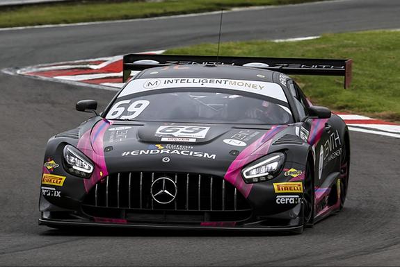SCALEXTRIC-C4242 Future Release Mercedes AMG GT3 #69 British GT 2020