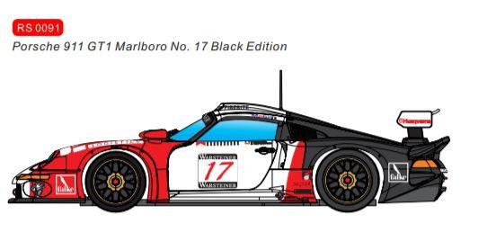 REVOSLOT-0091 Porsche 911 Future Release GT1 Marlboro Black Edition #17