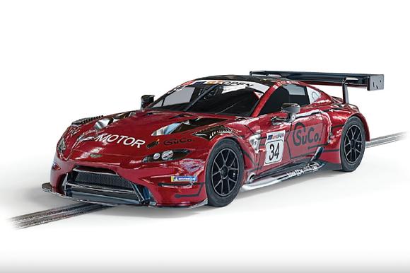 SCALEXTRIC-C4233 Future Release Aston Martin GT3 Vantage TF Sport #34