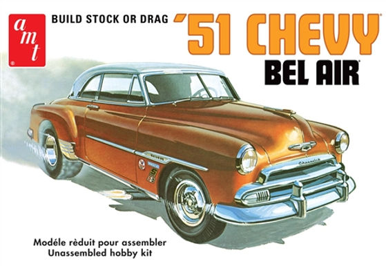 AMT-862  1951 CHEVY BEL AIR 1:25 SCALE MODEL KIT