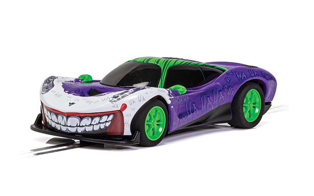 SCALEXTRIC-C4142 Joker Inspired Car