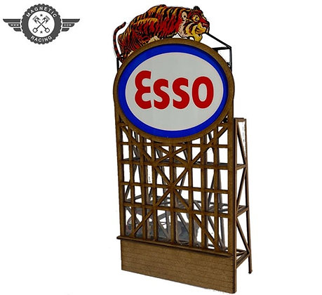 MAGNETIC RACING BILL029 Flashing Esso 1:32 scale Kit