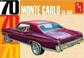 AMT 928 1970 Chevy Monte Carlo Model Kit 1/25