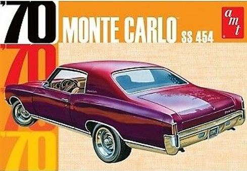 AMT-928 1970 Chevy Monte Carlo Model Kit 1/25