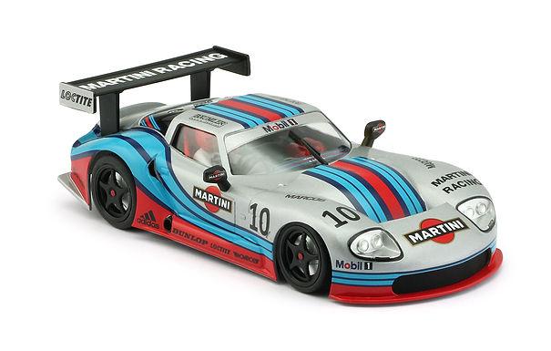 REVOSLOT-0075 Marcos LM600 GT2 No.10 Martini Silver.