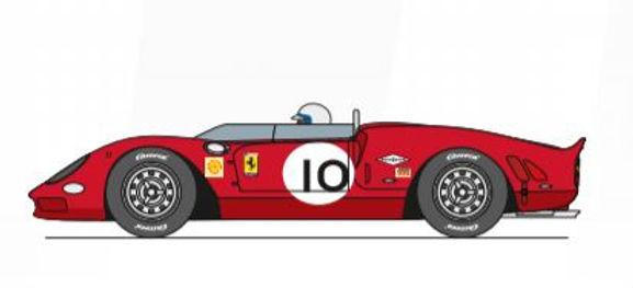 CARRERA-27652 Future Release Ferrari 365 P2 #10