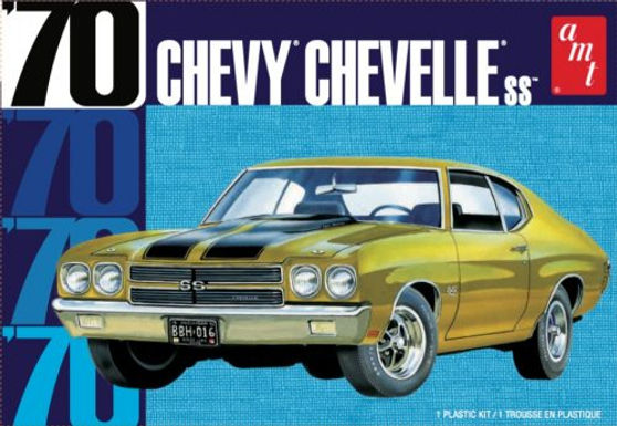 AMT-1143 1/25 Chevy Chevelle SS Plastic Kit